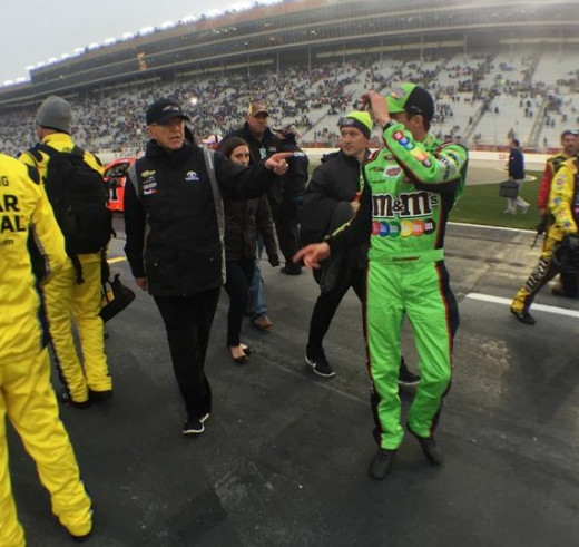Joe Gibbs tabbed Ragan to replace Kyle Busch. Atlanta did nothing to endorse that decision