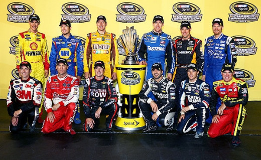 2013's Chase field originally included both Bowyer and Martin Truex Jr.