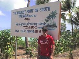 South Tarawa is capital and biggest of the 33 -island republic.