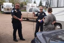 Cops collecting information