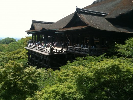 Kyoto, Japan makes her list. With sights like Kiyomizu Temple, it's easy to see why