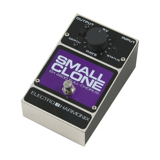 The Small Clone Chorus by Electro-Harmonix is one of the best analog effects pedals out there.