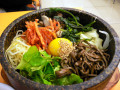 Bibimbap Korean Recipes - Sizzling Meat, Crisp Vegetables, Sauces