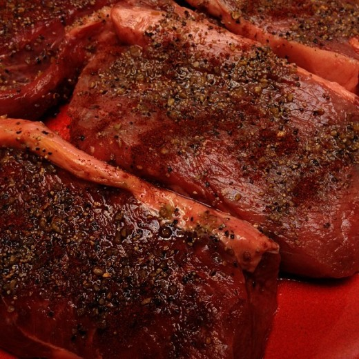 Bison meat is naturally very lean, and the fat on the outside of the meat is easy to trim off, making it a popular option for people trying to eat a healthy diet.