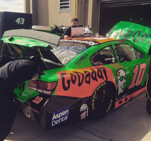 GoDaddy has reaped the benefits of having their name on the side of Patrick's car