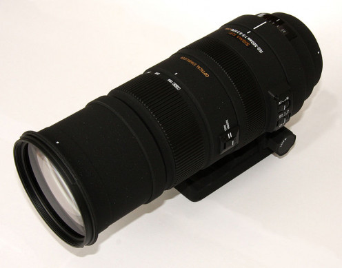 The Sigma 150-500mm
