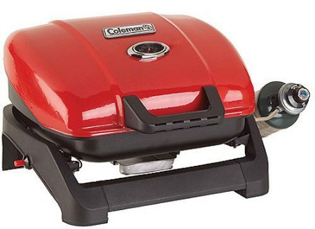 This Coleman Tabletop Propane Grill is aone that is popular with RV owners.