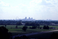 St. Louis as seen from Monk's Mound