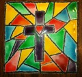 Fun Faux Stained Glass Art