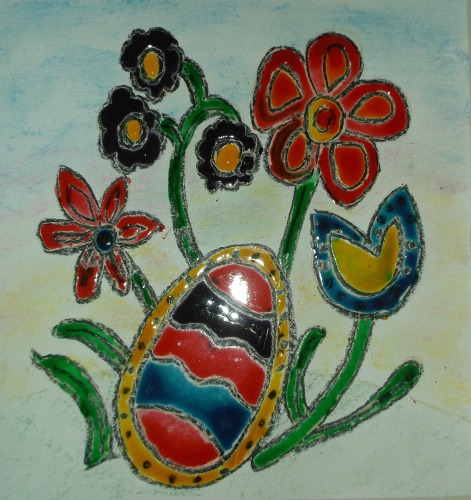 stained glass craft ideas faux stained glass hubpages 5488