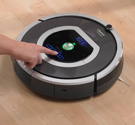 irobot roomba 780 robotic vacuum cleaner