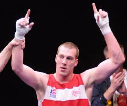 Jordan Shimmell won the National Golden Gloves championship in 009.