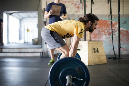 As your back begins to round during a deadlift, your risk of injury increases.