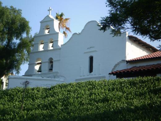 Mission San Diego, c. 1769.