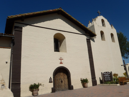 Mission Santa Ines, c. 1804, Solvang, CA.