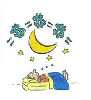 Making heaps of money - even while you sleep