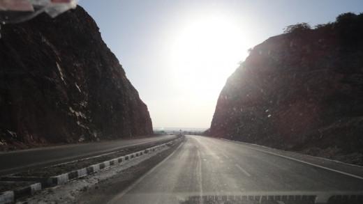 Way to Jaipur