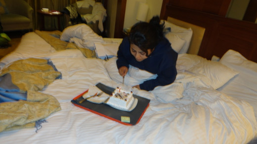 happy Birth day - Sweet Jayanti - Jaipur we celebrated Jayanti's Birthday to end our memorable trip