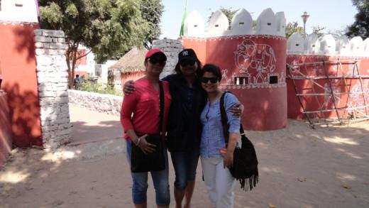 Me, Dipti and Jayanti