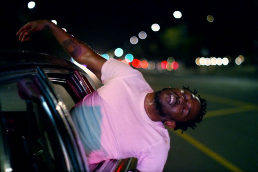 """Kendrick Lamar from the """"i"""" video"""