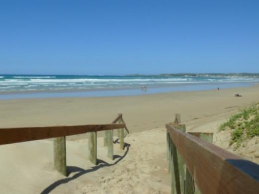 Beach at Stilbaai