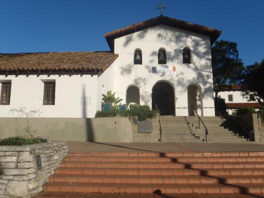Mission San Luis Obispo de Tolosa, c. 1772. San Luis Obispo, CA.