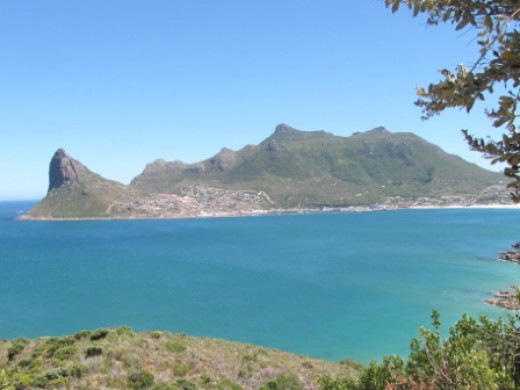 Houtbay from Chapman's Peak-Cape Town