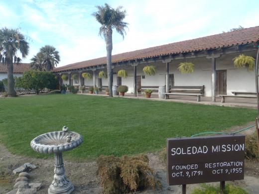 Mission Soledad, c. 1791, Soledad, CA.
