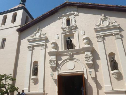 Mission Santa Clara, c. 1777, Santa Clara, CA.