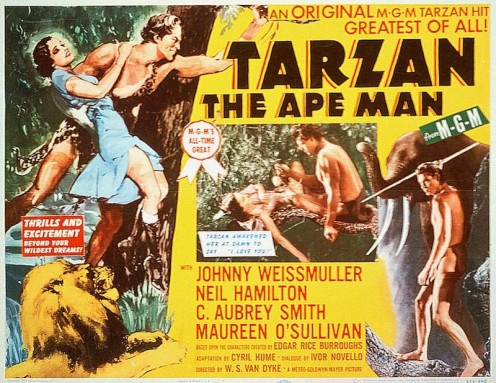 Many films were produced about Tarzan. His fame was that large