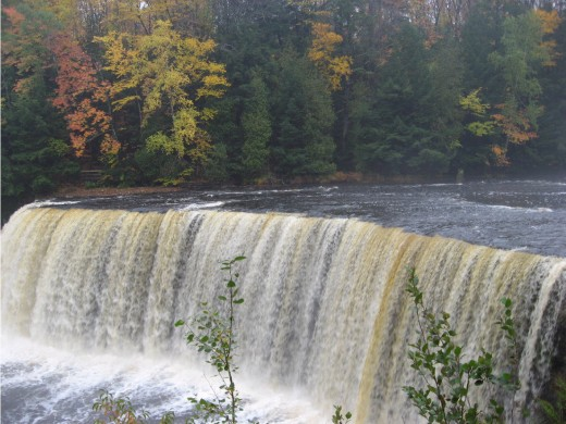 Tahquamenon Falls beauty pic