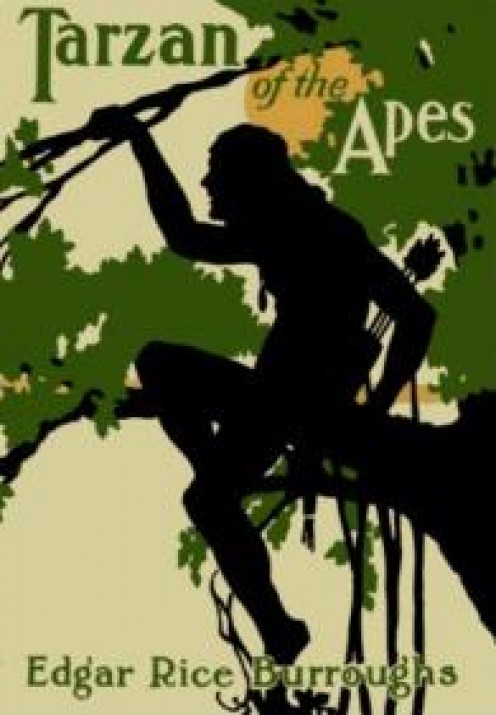 Tarzan, of The Apes poster