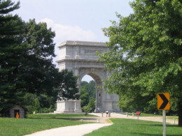Monument at Valley Forge