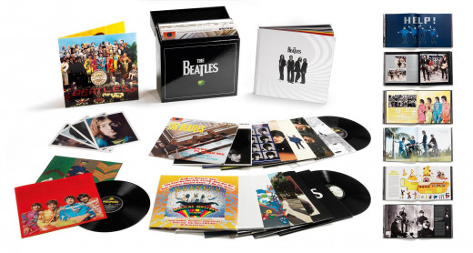 The Beatles - 180g remastered stereo vinyl box set.
