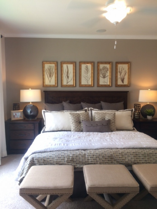 painting a bedroom a soothing neutral color can be an inexpensive