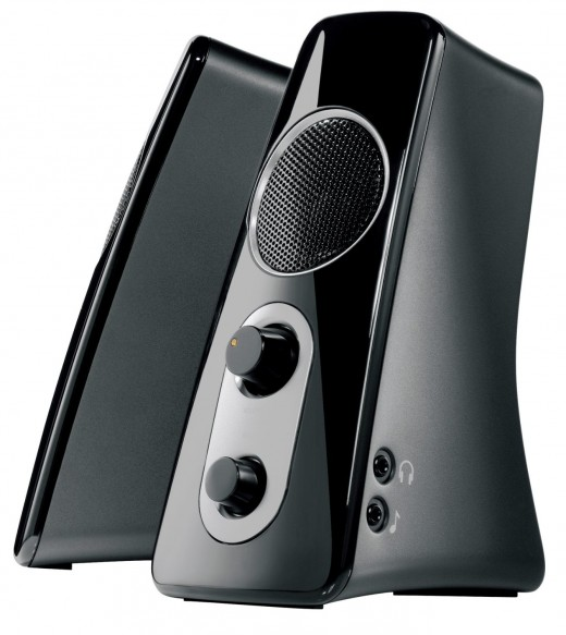 Delivering a rich, deep, and detailed sound, the Logitech Z523 system is definitely worth checking out.  RCA and 3.5mm jacks make it easy for you to plug in your  MP3 player, iPod gaming console, iPad, laptop, PC or DVD player.