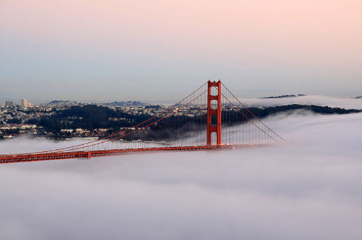 It took courage to build this bridge.