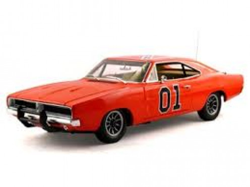 "The ""General Lee,"" was a 1969 Dodge Charger that was specially-tuned for the Dukes of Hazzard"