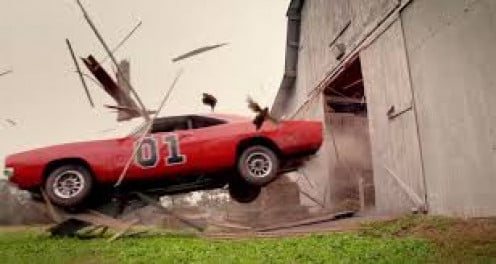 """General Lee"" in action"