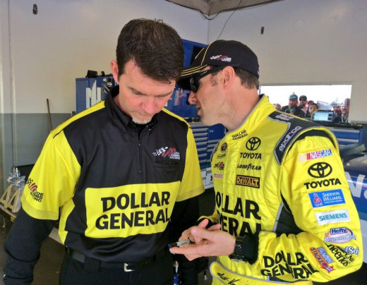 Kenseth has had plenty of prior success at the 1.5 mile Las Vegas Motor Speedway