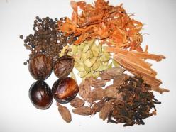 A garam masala mixture