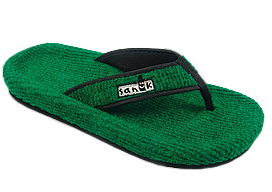 Sanuk Fur Real Flip Flops