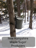 New Hampshire Maple Producers Annual Maple Sugar Weekend.