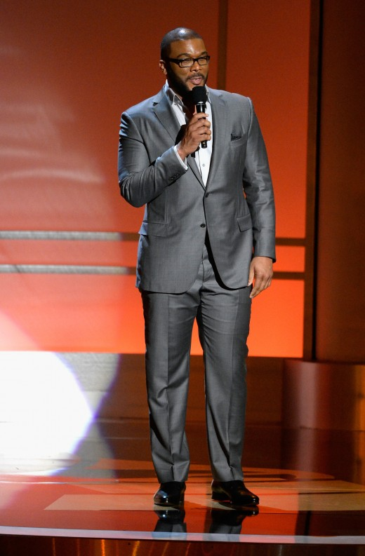 Tyler Perry at the All-Star Grammy Awards