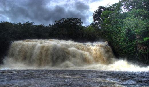 Iracema Falls Brazil