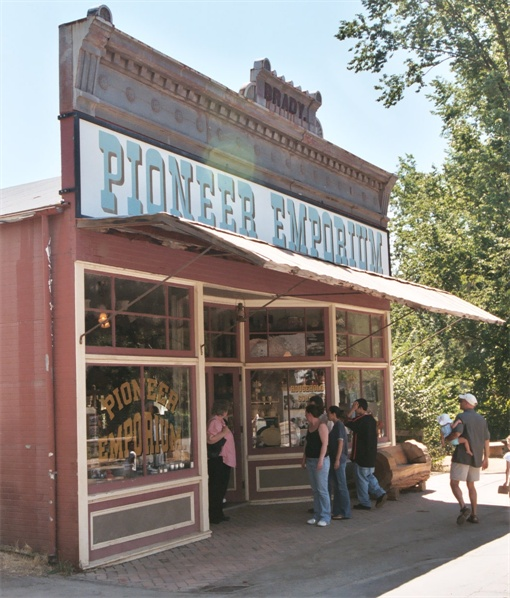 Storefront, Columbia State Historic Park.