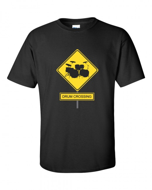This custom Drum Crossing Design comes in a variety of products. Pillows, Drinking Glasses, Cuff Links, Jewelry, T-shirts for Men, Woman, Teens, and Kids.