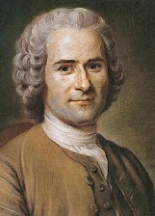 Jean-Jacques Rousseau in 1753, by Maurice Quentin de La Tour