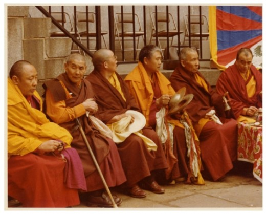Monks in Attendance at the March 10th Rally at the U.N. - 1978