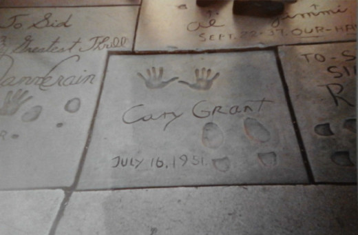 Cary Grant is one of my all time favorite actors.  It was fun searching for his square.